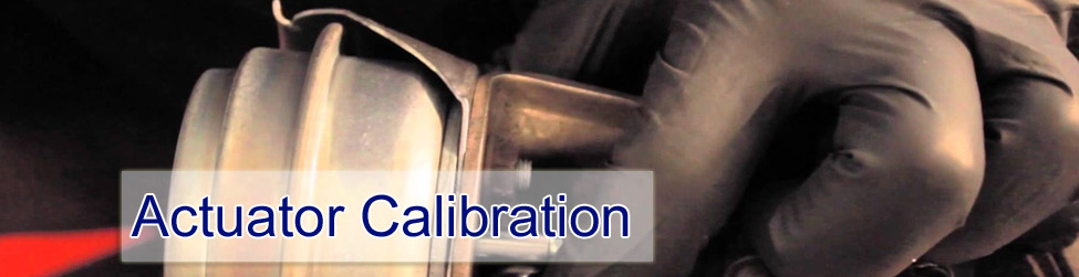 Actuator Calibration